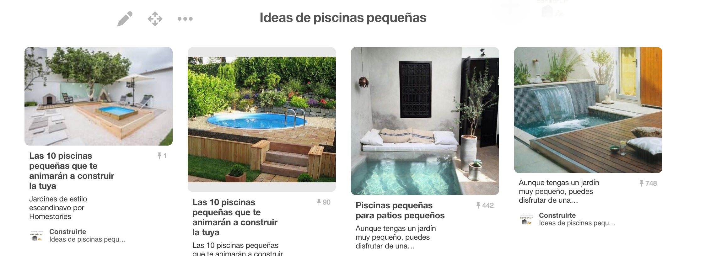 Grandes Ideas De Piscinas Peque As Edificaciones Y Reformas  ~ Piscinas Para Patios Pequeños Ideas